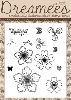 Frilly and Fabulous Stamp Set
