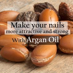Make your nails more attractive with argan oil