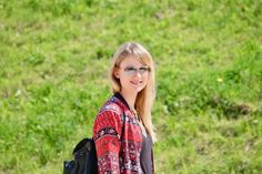 bomber jacket, jeans, shirt, sunnies, casual, outfit, look, style, backpack