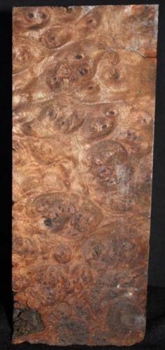 figured claro walnut turning block