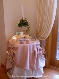 2004年12月・・・    「Chez Mimosa シェ ミモザ」     ~Tassel&Fringe&Soft furnishingのある暮らし~     フランスやイタリアのタッセル・フリンジ・ファブリック・小家具などのソフトファニッシングで、暮らしを彩りましょう       http://passamaneriavermeer.blog80.fc2.com/