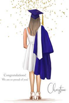 Graduation Silhouette, Nurse Art, Beautiful Girl Drawing, Friends Poster, Graduation Cap Decoration, Hand Embroidery Videos, Cute Cartoon Girl, Bridal Photoshoot, Applis Photo