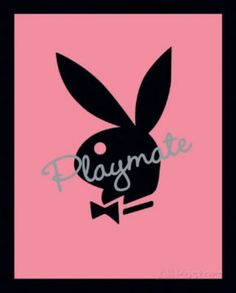 Playboy : Playmate Pink - Mini Poster x (new & sealed) Playboy Bunny, Playboy Playmates, Playboy Logo, Iphone Wallpaper Video, Bunny Painting, Bunny Logo, Butterfly Drawing, Pink Art, Photo Wall Collage