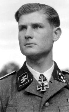 Werner Wolf, here as a SS-Untersturmführer of the Waffen-SS.