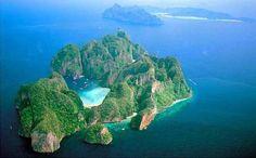 Isla Phi Phi Lay, el encanto escondido de Tailandia