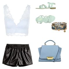 """Untitled #19"" by madison-lxii ❤ liked on Polyvore featuring Topshop, H&M, Baldinini Trend and Accessorize"