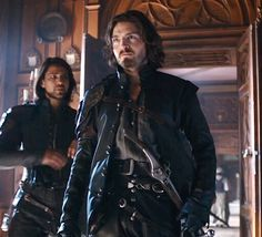 Athos and D'artagnan