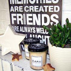 naturalne świece zapachowe... zeea - handmade candles
