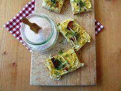 Die Saisongärtnerin: Schwäbischer Krautkuchen veganisiert