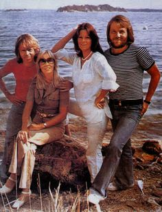 On November 5th, 1976, ABBA-Dabba-Doo was aired in Sweden. It was the first Swedish television special devoted to ABBA, which was largely filmed on Viggsö island.The foursome enjoys the nice weather on Sweden's summer on its lovely Viggsö island