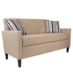 Beautiful, clean lines.  Love the subtle color.  $600 couch?  You bet!