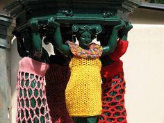 Amazing Street Art With Urban Knitting