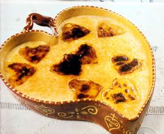 Leite-creme para os Sarrabulhos - Gastronomia de Portugal