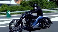 Harley Davidson Breakout Softail Custom Umbau Penzl Jekyll Hyde Kess Tec...