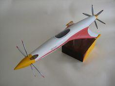 Luigi Colani - unlimited racer plane
