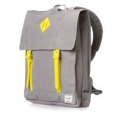 Herschel Survey Backpack - Grey/Neon Lime