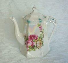 Antique Greiner and Herda Lusterware Teapot by VintageFlares, $55.00