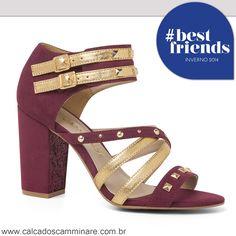 Bom Dia!  Comece a semana cheia de estilo com essa sandália super fashion #camminare. ✨ Ref. 849.11309  #camminare #fashion #love #shoes #cmshoes #winter #bestfriends #itgirls #moda