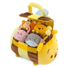 Disney's Winnie the Pooh Honey Pot Tsum Tsum Collection