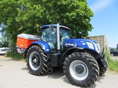 254 best blue tractors images on pinterest tractors farming and