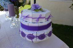 Bridal Shower Paper Cake - Favor Boxes