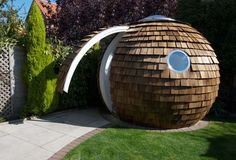 The Archipod is a new concept in backyard office design. With the increase in technology and the rise in traffic and travel costs, perhaps a backyard office is just the place for you to get your work done without feeling trapped in your house all day.
