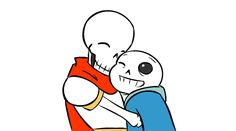 (gif) Skelesnugs (GIF) ||| Papyrus and Sans ||| Undertale Fan Art by zarla on DeviantArt