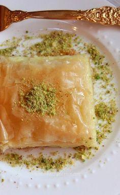 Galaktoboureko (Custard Pie with Phyllo)  - Traditional Greek Food. http://foodmenuideas.blogspot.com/2013/11/traditional-greek-food.html
