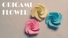 How to make an Origami Rose (Evi Rose, by Evi Binzinger) - YouTube