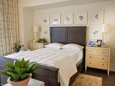 Hgtv Smart Home 2017 Master Bedroom Pictures Garden Television Soffit Over Bed With Recessed Lighting