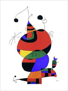 joan miro biography | Hommage a Picasso by Joan Miro