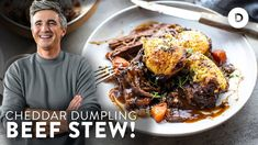 THE BEEF STEW you need to make this Winter! COMFORT FOOD! Braiser Recipes, Soup Recipes, Cooking Recipes, Irish Stew, Roast Beef Recipes, Irish Recipes, Beef Dishes, One Pot Meals, Soups And Stews