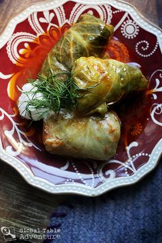 Recipe: Romanian Stuffed Cabbage Leaves (Sarmale) - I Cook Different Cabbage And Bacon, Cabbage Leaves, Cabbage Rolls, Fresco, The Best, Cooking Recipes, Top Recipes, Good Food, Food And Drink
