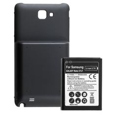 Chromo Inc.® 5000mAh Extended Battery and Back Cover for the Samsung Galaxy Note i717 - AT&T Only $7.99 (save $32.00)