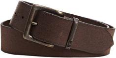 Lee - Cinturón para hombre, talla 90 cm, color marrón oscuro