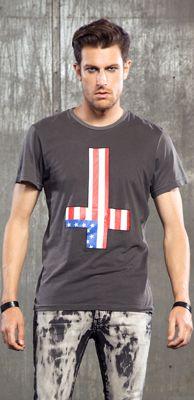 "LIP SERVICE LSMPA ""Fuck Faith"" tshirt #M16-391"