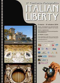 Manifesto bassa risoluzione Concorso Fotografico ITALIAN LIBERTY