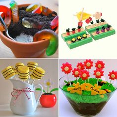 Flowers & Bugs, a Themed Birthday Party. Decor, favours, games, and treat via SavvyMom