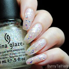 BunnyTailNails: Shattered Glass Fail Art