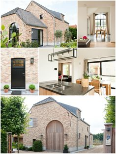 Love the exterior Love Your Home, My Dream Home, Belgian Style, Villa, House Blueprints, Architecture Details, Modern Rustic, Future House, Building A House