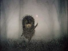 Still from Hedgehog in the Fog by Yuri Norstein. // my all time favorite animation.