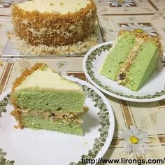 Lirong | A singapore food and lifestyle blog: Recipe: Pandan Gula Melaka Cake // Ondeh Ondeh Cupcakes (pandan extract)