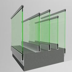 Source Wall side mounted fixed glass spigot for glass without glass holes… - All About Balcony Balcony Glass Design, Glass Balcony Railing, Balcony Grill Design, Balcony Railing Design, Staircase Design, Glass Handrail, Frameless Glass Balustrade, Channel Glass, Stainless Steel Balustrade