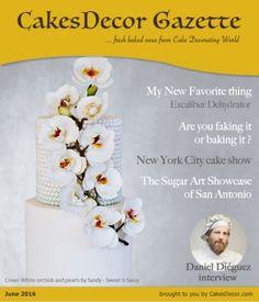 CakesDecor Gazette Issue 5.06 / June 2016