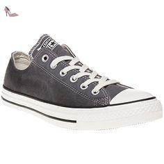 Chuck Taylor Ct As Dainty Ox Canvas, Chaussures de Fitness femme, Marron (Charcoal 010), 37.5 EUConverse