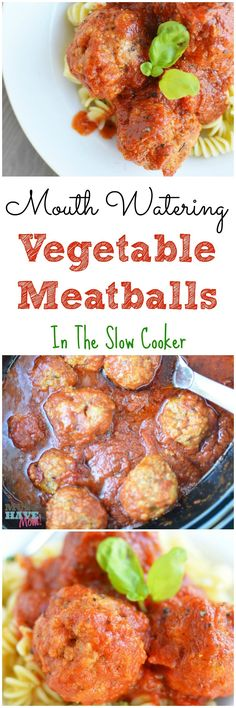 (Use all bison or beef, and sprouted grain or spelt breadcrumbs; saute in broth instead of oil) Hide your kids' veggies inside their favorite meatballs! Serve over pasta, zoodles or spaghetti squash.