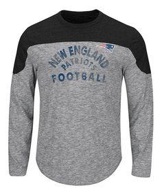 This New England Patriots Split Yoke Tee - Men's Big & Tall is perfect! #zulilyfinds