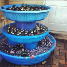 32 Creative Life Hacks For The Truly Desperate College Student,,Create%20the%20legendary%20Fountain%20of%20Booze.
