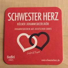 Bierdeckel - Schwester Herz Kölner Johannislikör Vorderseite - Em Höttche - 21.01.2018