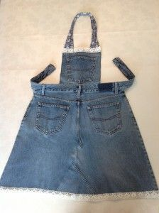 DIY - denim apron from old jeans